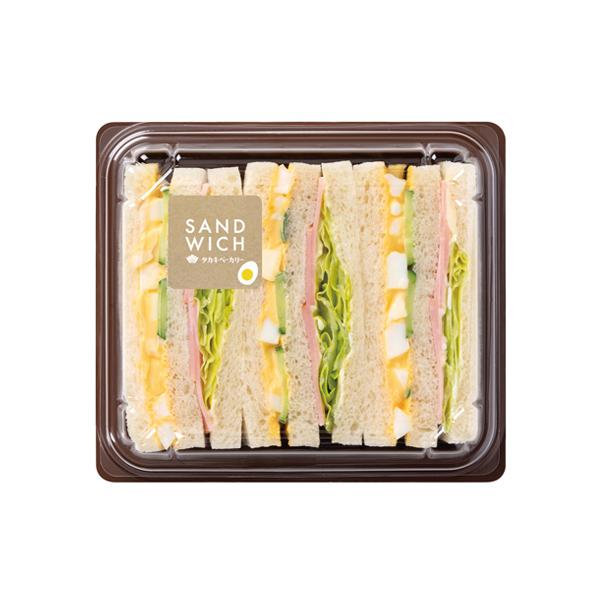 ミックスサンド(自家製たまごサラダ)