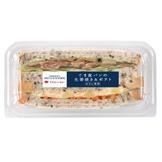 ごま食パンの生姜焼き&ポテト