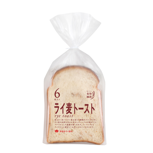 ライ麦トースト(6)