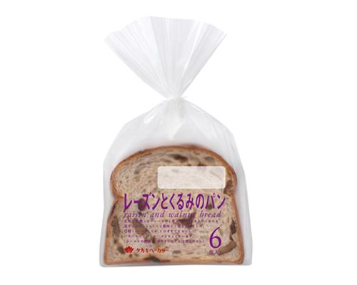 レーズンとくるみのパン