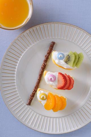 ケーキ 鯉のぼり こどもの日の鯉のぼりケーキ 簡単スポンジケーキ丸型での作り方